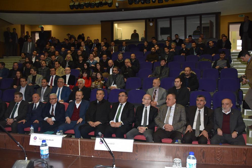 """Rektör Aslan """"Sanayicimizin emrindeyiz"""" 4 - Üniversite - Sanayici buluşması"""