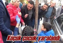 Photo of Çocuğa Araba Çarptı