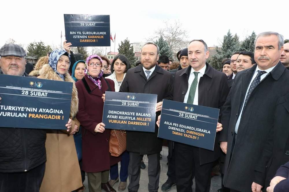 28 Şubat Türkiye'nin ayağına vurulan prangadır 1 - 28 Şubat Türkiye'nin ayağına vurulan prangadır