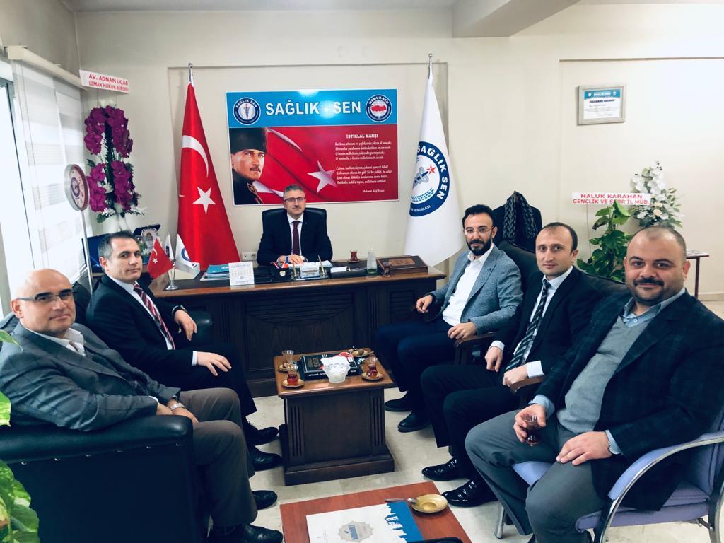 Akdoğan sağlık çalışanlarının taleplerini dile getirdi - Akdoğan sağlık çalışanlarının taleplerini dile getirdi