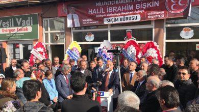 Photo of Bişkin seçim bürosunu açtı