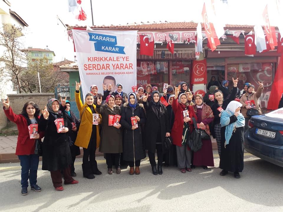 MHP'li kadınlar ev ev geziyor 1 - KADIN ELİNİN DEĞDİĞİ HER ŞEY GÜZELLEŞİR