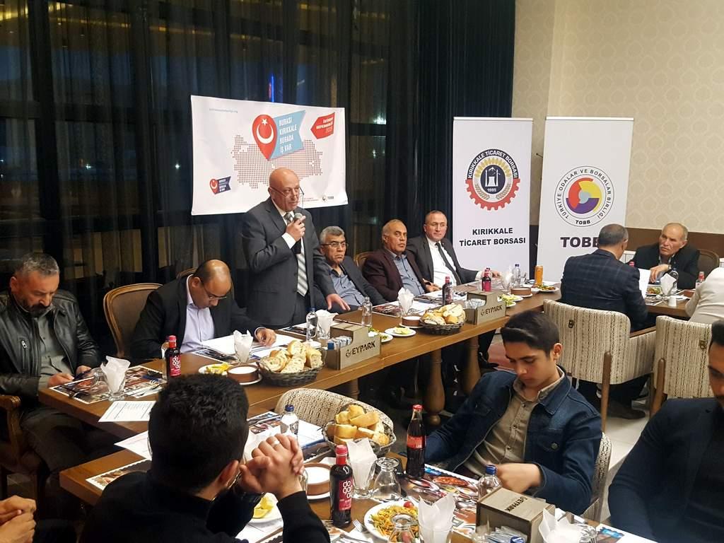 Kırıkkale Tarım ve Hayvancılık sektör toplantısı yapıldı - Kırıkkale Tarım ve Hayvancılık sektör toplantısı yapıldı