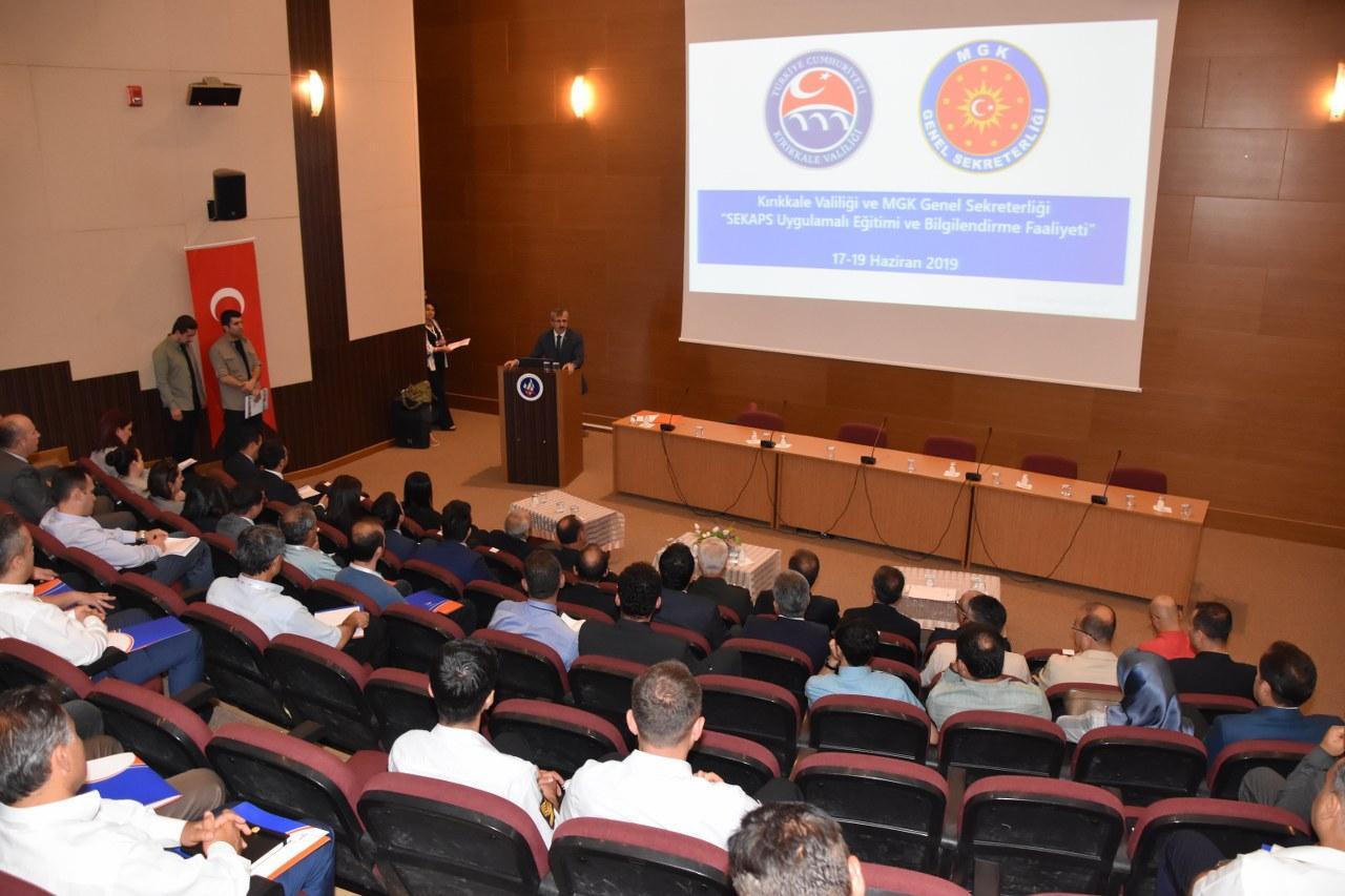 Kırıkkale'de SEKAPS eğitimi 1 - Kırıkkale'de SEKAPS eğitimi