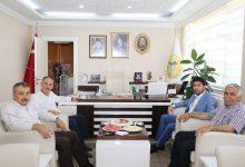 Photo of Başkan Saygılı Dedelioğlu ve Özdem'i ziyaret etti