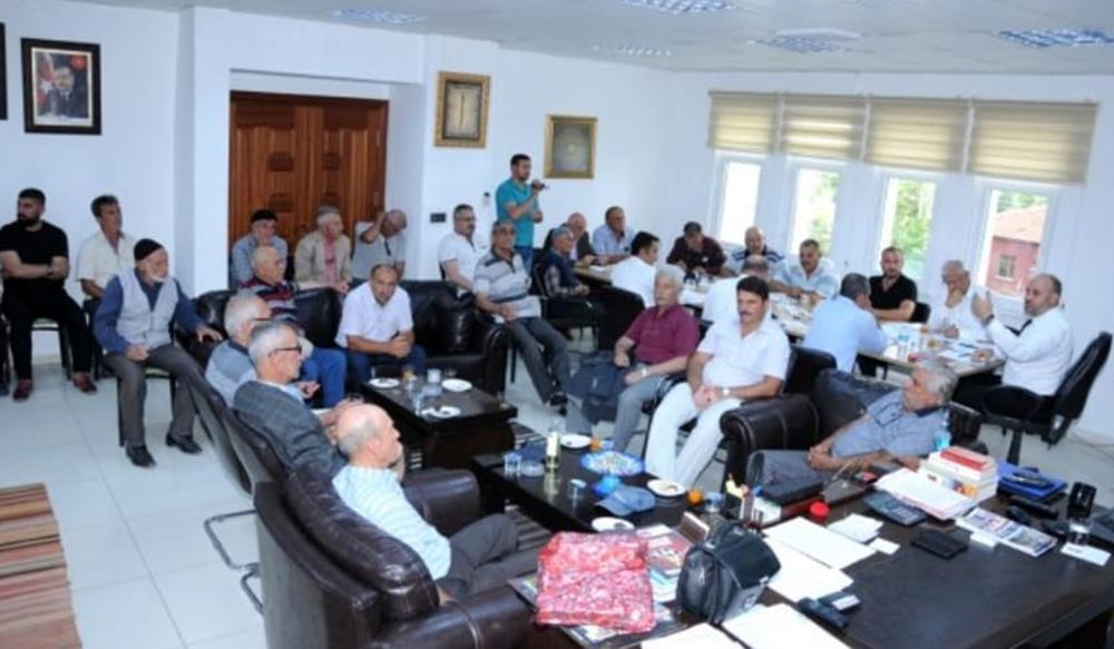 Meclis toplantısı halka açık yapıldı 1 - Meclis toplantısı halka açık yapıldı