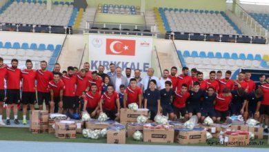 Photo of Saygılı'dan Kırıkkalespor'a malzeme yardımı