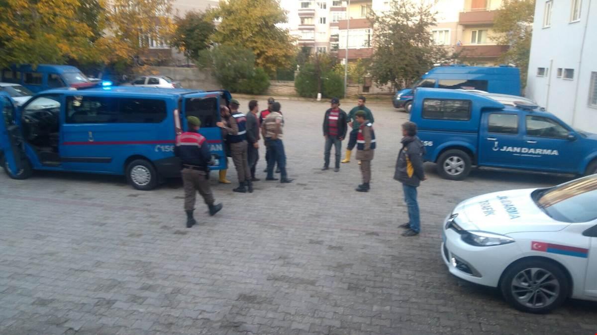 Jandarma zanlıları Samsun'da yakaladı - Jandarma zanlıları Samsun'da yakaladı