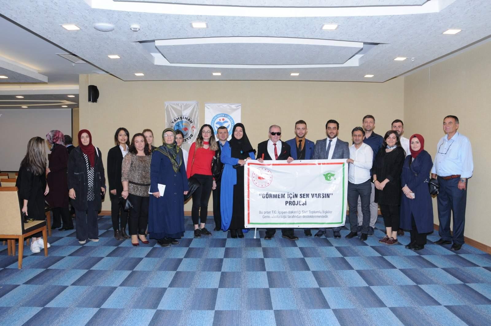 Kırıkkale'de engelli çalıştayı111 - Kırıkkale'de engelli çalıştayı