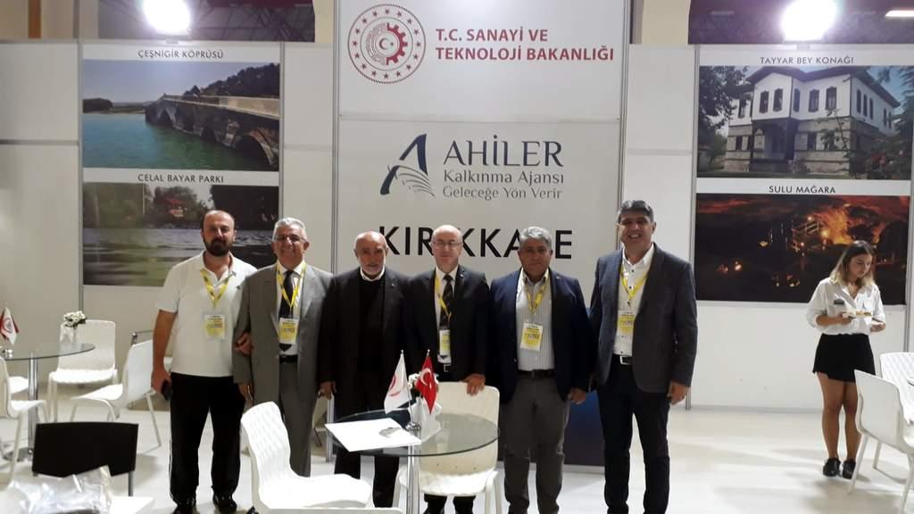 Antalya'da Kırıkkale ürünleri sergilendi 1 - Antalya'da Kırıkkale ürünleri sergilendi
