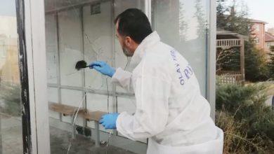 Photo of Bahşılı'da durağın camları kırıldı