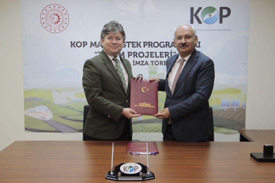 2020 yılı KOP projeleri imza töreni yapıldı 1 - 2020 yılı KOP projeleri imza töreni yapıldı