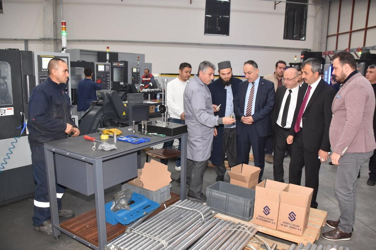 Silah İhtisas OSB Kırıkkaleye umut oldu 1 - Silah İhtisas OSB Kırıkkale'ye umut oldu