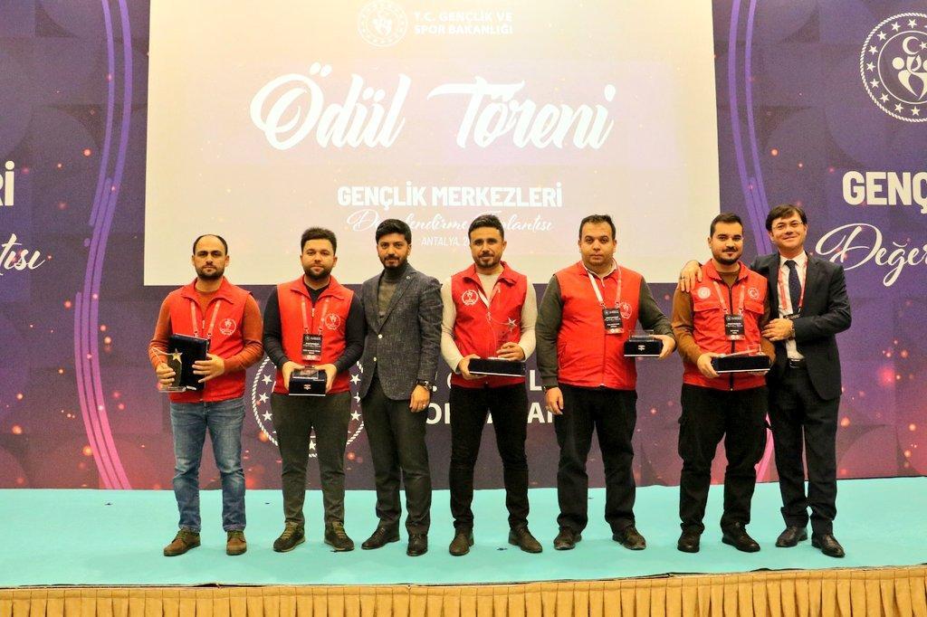Gençlik hizmetleri genel müdürlüğünden Kırıkkaleye ödül 2 - Gençlik hizmetleri genel müdürlüğünden Kırıkkale'ye ödül