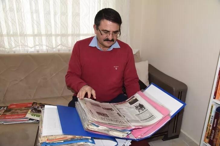 Kırıkkalede çıkan tüm yerel gazetelerin arşivini tuttu 1 - Kırıkkale'de çıkan tüm yerel gazetelerin arşivini tuttu