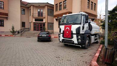 Photo of Karakeçili Belediyesine arazöz hibe edildi