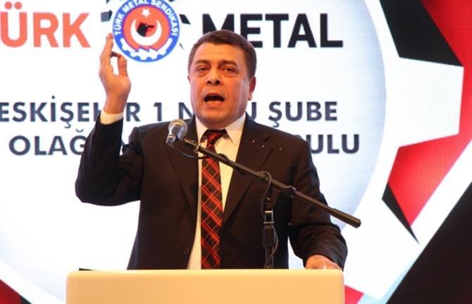Türk Metal üyeleri grevde 1 - Türk Metal üyeleri grevde