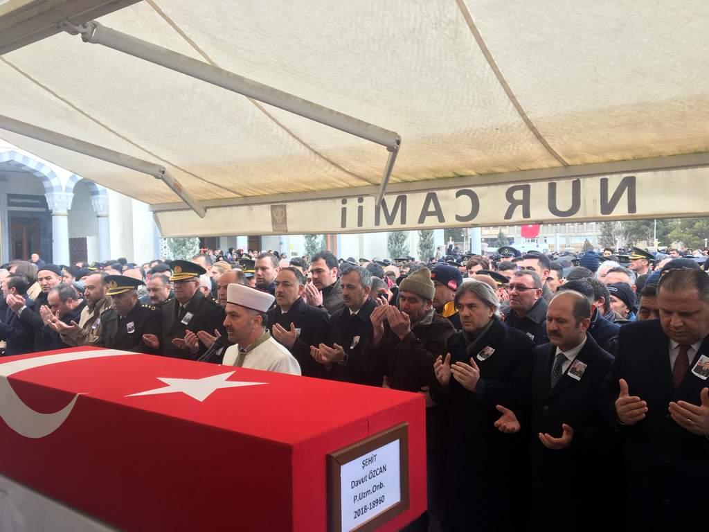 Şehit Özcan son yolculuğuna uğurlandı, Kırıkkale Haber