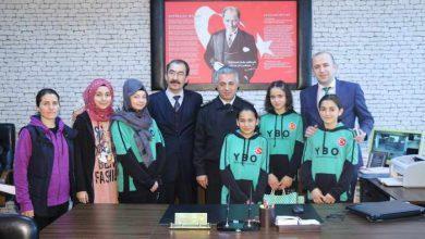 Photo of Jandarma YBO'yu Ziyaret Etti
