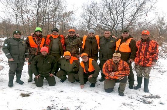 Bulgarlar Domuz Avladı