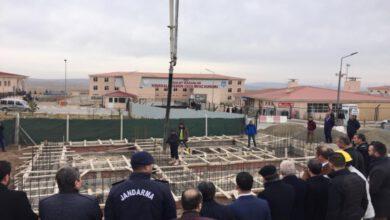Photo of Huzur Cami'nin Temeli Dualarla Atıldı