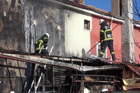 Kimeski'deki Yangın Korkuttu
