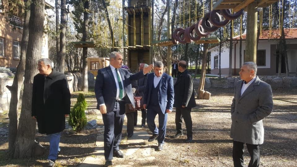 Başkan Çaykara Muhtarları Ağırladı, Kırıkkale Haber