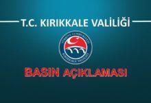 Photo of Kırıkkale Valiliği Korona Virüsü Hakkında Açıklama Yaptı