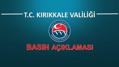 Photo of Kırıkkale Valiliği Koronavirüs Hakkında Açıklama Yaptı