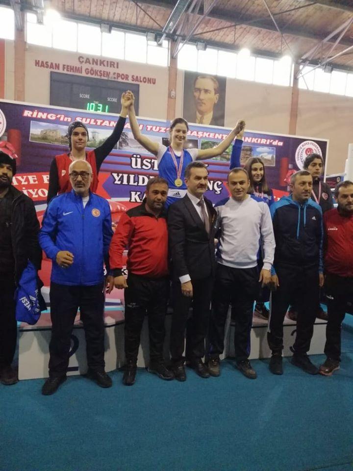 Elifsu Türkiye şampiyonu