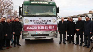 Photo of Kırıkkale Belediyesi'nden Elazığ'a yardım eli