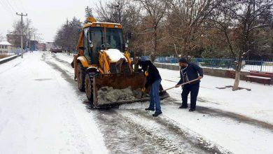 Photo of Sulakyurt belediyesinden kar mesaisi