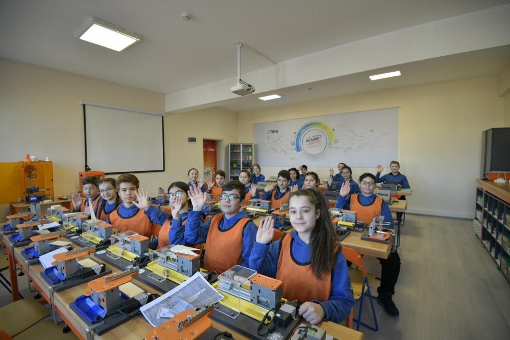 Tüpraş'tan robotik kodlama sınıfları, Kırıkkale Haber