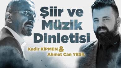 """Photo of Kipmen ve Yeşil'den """"Şiir & Müzik Dinletisi"""""""