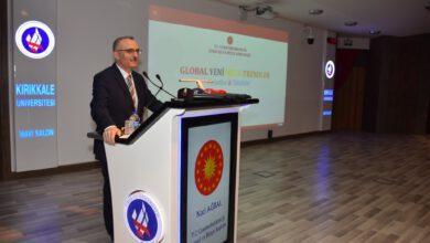 Photo of Ağbal, Kırıkkale Üniversitesi'nde Konferans Verdi