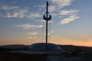 Vali Sezer, Şehitler Anıtı'nda İnceleme Yaptı