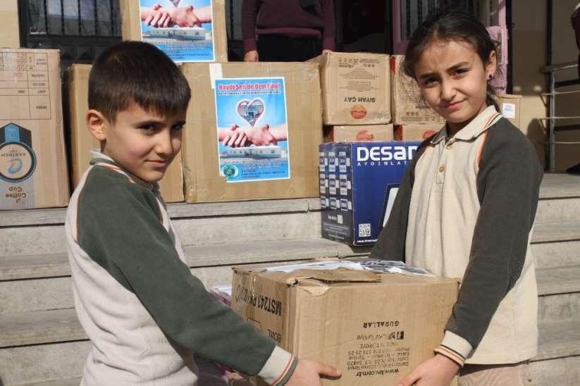 Kardeş Köy Okuluna Kırtasiye Desteği, Kırıkkale Habeer
