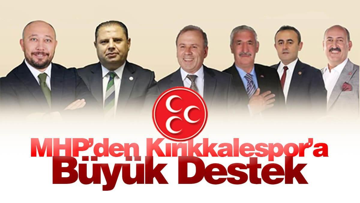 MHP'li Başkanlardan Spora Büyük Destek