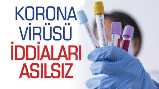 Koronavirüs Haberi Asılsız Çıktı
