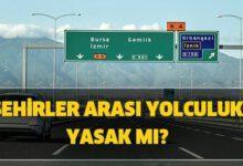 Photo of Şehirler arası yolculuk özel araçla yasak mı?