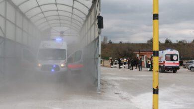 Photo of Belediyeden Araç Dezenfeksiyon Tüneli