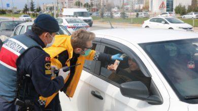 Photo of Kırıkkale'den geçen araçlarda Coronavirüs denetimi