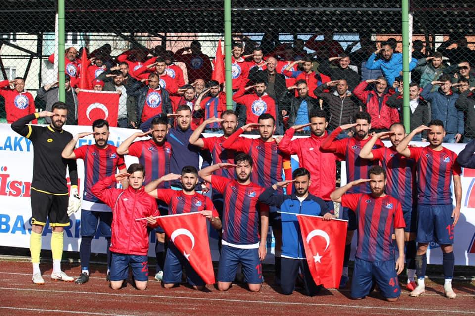 Kırıkkale Büyük Anadoluspor'dan Asker Selamı