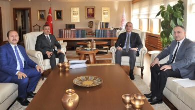 Photo of Yeni kültür merkezi ve müze çalışmalarını görüştüler