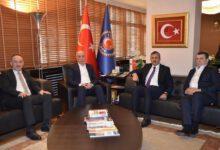Photo of Sezer ve Saygılı'dan Atalay ve Kavlak'a ziyaret