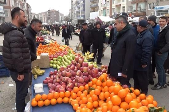 20200401 3048016 - Kırıkkale'de Açık Pazarlar Kapatıldı
