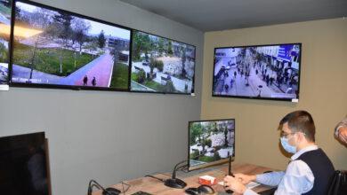 Photo of Kovid-19 ihlalleri belediyedeki otomasyon odasından takip ediliyor