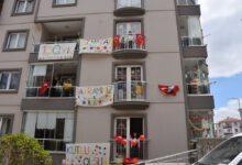 Photo of Kırıkkale'de 23 Nisan Coşkusu Evlerde Yaşandı