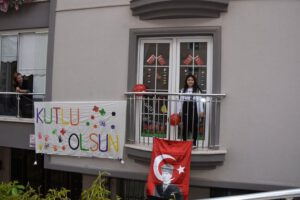 Kırıkkale'de 23 Nisan Coşkusu Evlerde Yaşandı