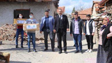 Photo of Ülkü Ocakları Mağdur Aileleri Unutmadı